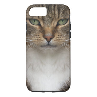 Tabby Cat Face Tough iPhone 7 Case