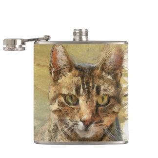 Tabby Cat Flask