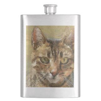 Tabby Cat Flasks