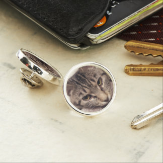 Tabby Cat-Instagram by Shirley Taylor Lapel Pin