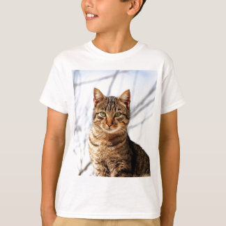 tabby cat love peace calm T-Shirt
