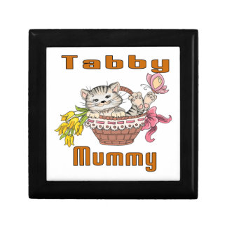 Tabby Cat Mom Gift Box