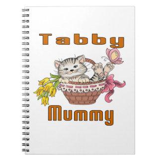 Tabby Cat Mom Spiral Notebooks