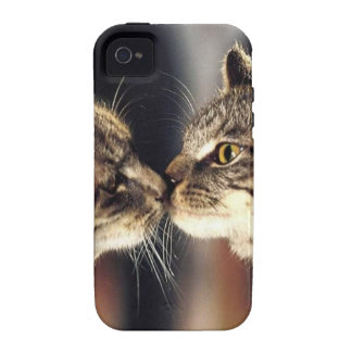 Tabby Cat Reflections Case-Mate iPhone 4 Covers