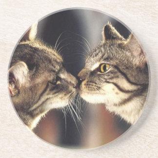Tabby Cat Reflections Coaster