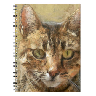 Tabby Cat Spiral Note Books