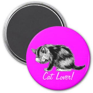 Tabby Kitten Cat-lover Art Magnet