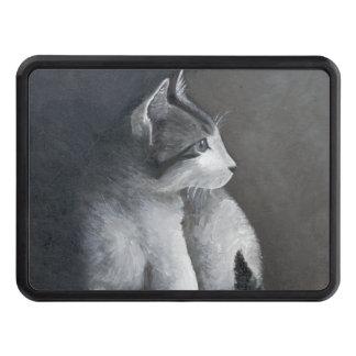 Tabby Kitten Trailer Hitch Cover