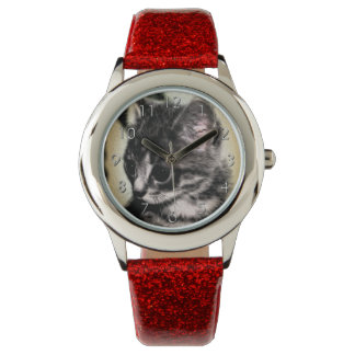 Tabby Kitten Wrist Watches