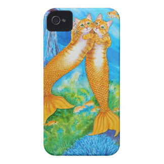 Tabby MerCats iPhone 4 Case