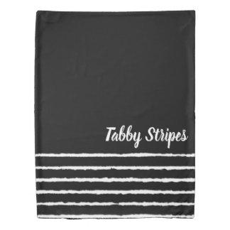 Tabby Stripes Duvet Cover