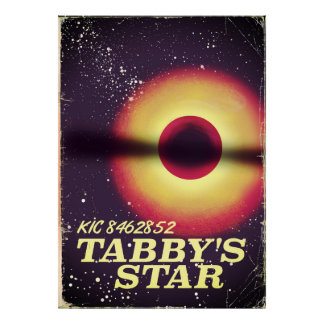 Tabbys star space poster