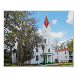 Tabernacle Baptist Church, Beaufort Poster
