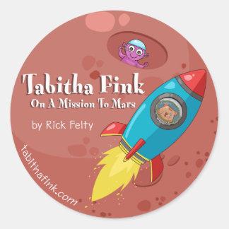 Tabitha Fink Mars Stickers