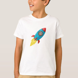 Tabitha Fink Rocket Ship T-Shirt