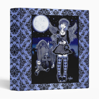 """Tabitha"" Gothic Guardian Angel Art Binder"