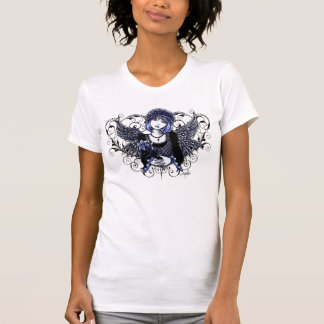 Tabitha Victorian Angel Heart Scroll T-Shirt