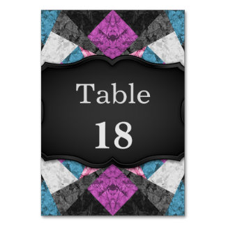 Table Card Marble Geometric Background G438