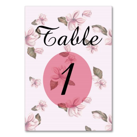 "TABLE CARD ROSES  3.5"" x 5"" Ultra-Thick Paper"