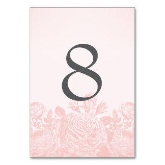 Table Card Vintage Rose Pastels: Rose Quartz