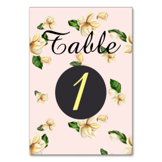 "TABLE CARD YELLOW ROSES  3.5"" x 5"" Ultra-Thick P"