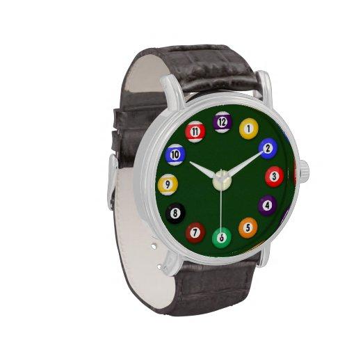 Table de billard - montres bracelet