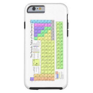 Table des éléments périodique coque tough iPhone 6