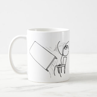 Table Flip Flipping Rage Face Meme Coffee Mug