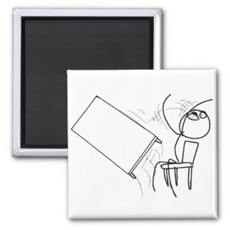 Table Flip Flipping Rage Face Meme Magnets