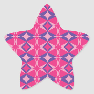 table fluorescent towel star sticker