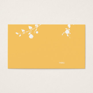 Table Guest Card - A Great Pear