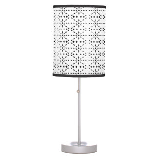 Table Lamp Black and White