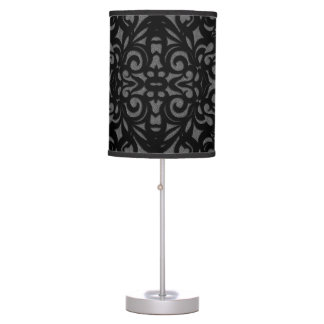 Table Lamp Damask Style