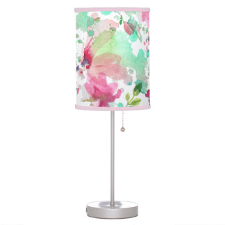Table lamp Floral Watercolor