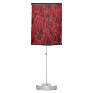 Table Lamp Shade - Red Flowers