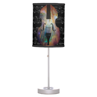 Table Lamp - Space Bass with sheet music