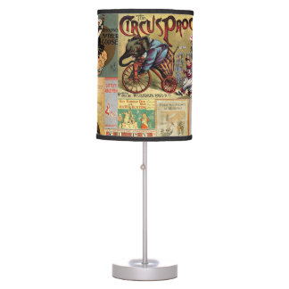 Table Lamp - Vintage Book Covers
