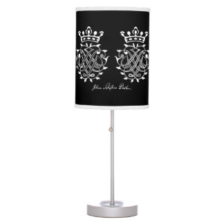 Table Lamp with Johann Sebastian Bach seal