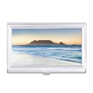 Table Mountain Across Table Bay Business Card Cases