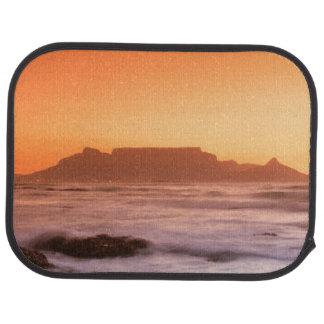 Table Mountain At Sunset, Bloubergstrand Auto Mat