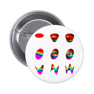 Table of lowest order Zernike polynomials Pinback Buttons