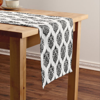 Table Runner-Black Motif Short Table Runner