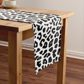 Table runner of 35.5 cm X 183 cm Leopard