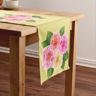Table Runner-Roses Short Table Runner