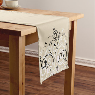 Table Runner-Swirl Flourish Short Table Runner