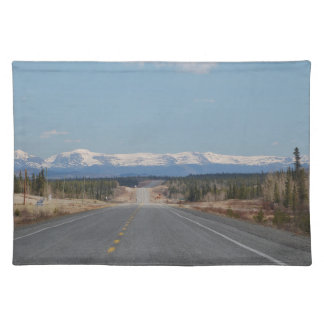 Table set Higway in Canada Placemat