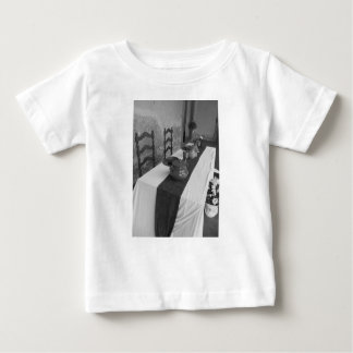 Table settings for a medieval style banquet baby T-Shirt