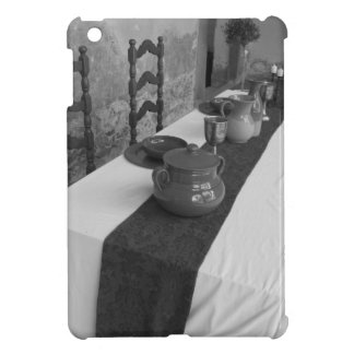 Table settings for a medieval style banquet iPad mini cover