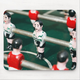 Table soccer mouse pad