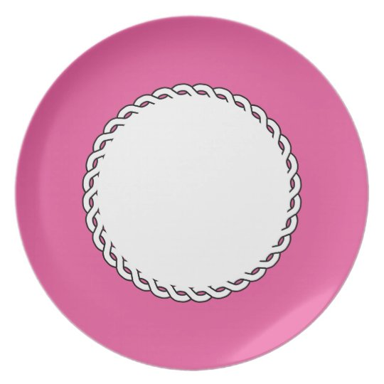 """Table-Statements""(c)-Custom_Vivid-Rose*_White Plate"